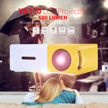 YG300 Projector Portable LCD 600LM 3.5mm Audio 320x240 Pixels YG-300 HDMI USB Mini Projetor Home Theater Media Player(China (Mainland))