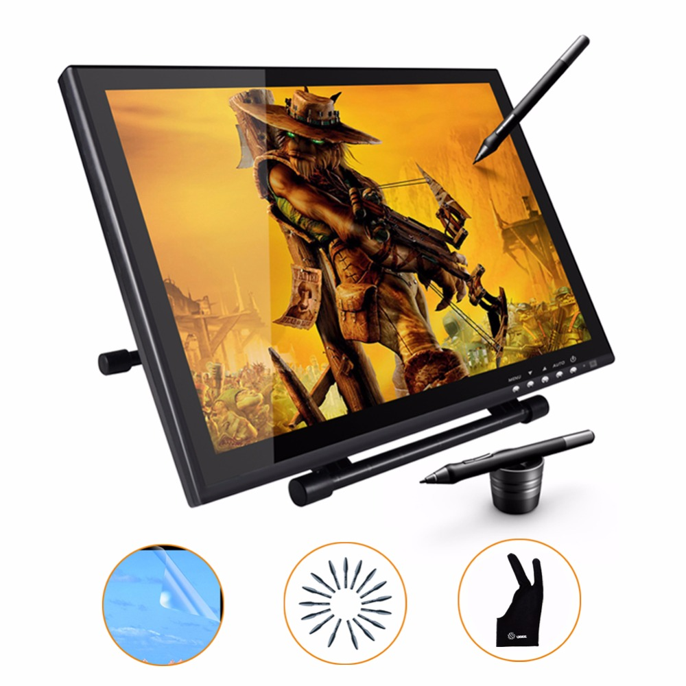 UGEE UG1910B 19 inch Interactive Graphic Drawing Tablet Monitor LCD Pen Display(China (Mainland))