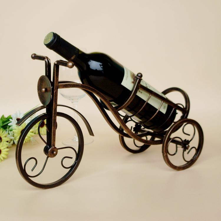 Online kopen wholesale fiets wijn uit china fiets wijn for Metalen decoratie fiets