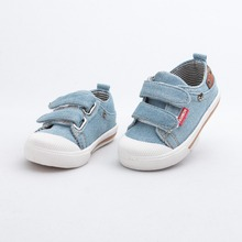 Starting in spring 2015 children s classic washed denim casual shoes Velcro shoes new shoes