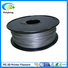 Free Shipping 1 75mm PC 3D Printer Filament for 3D Printing 1kg roll Natural Clear Blue