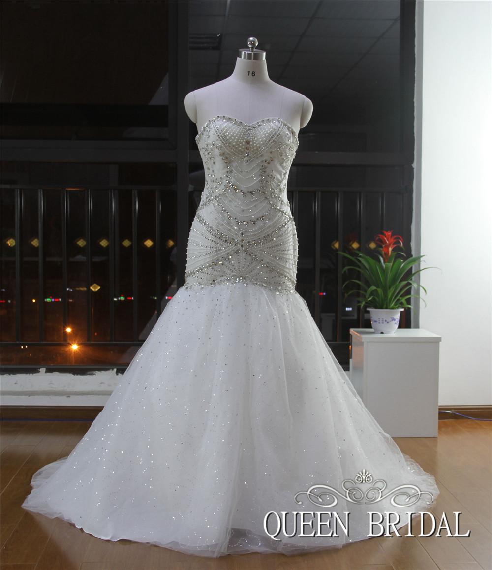strapless mermaid wedding dresses with bling wwwimgkid