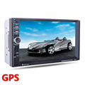 2 Din Car GPS navigation Player Bluetooth Stereo Radio FM MP3 Audio Video USB Auto Electronics