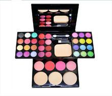 2015 Hot makeup palette 24 Eyeshadow plate 8 lipstick 4 blush Makeup Sets maquiagem conjunto Makeup Kit makeup set for dhl(China (Mainland))