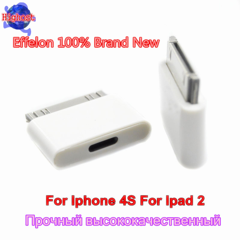 Effelon 100% Brand New 8Pin Female to 30Pin Data Sync Charger Male Adapter for lightning to 30 pin adapter for iphone for ipad(China (Mainland))