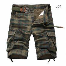 Męskie spodenki 2019 moda chusta spodenki plażowe męskie na co dzień Camo szorty kamuflażowe wojskowe krótkie spodnie męskie kombinezony bermudy(China)