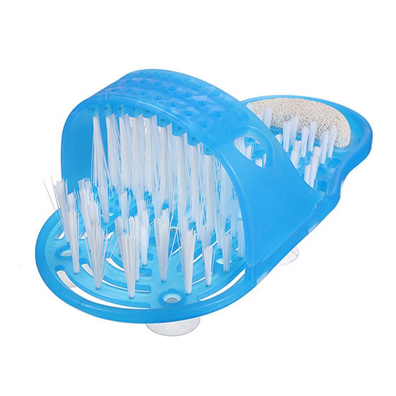 2016 New Feet Foot Bath Shower Brush Spa Washer Cleaner Scrubber Massager Foot Massag Men/Women Shoe Comfort Pads Foot Care#BSEL(China (Mainland))