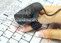 50pcs Mini USB 3D Optical Finger Mouse Mice for Laptop PC, mouse ,finger mouse ,mice