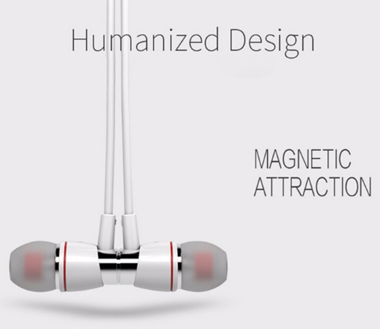 H08 Original Magnetic Wireless Bluetooth Sports Headset Waterproof Stereo Earphone for Smartphones MP3 with Mic Earbud