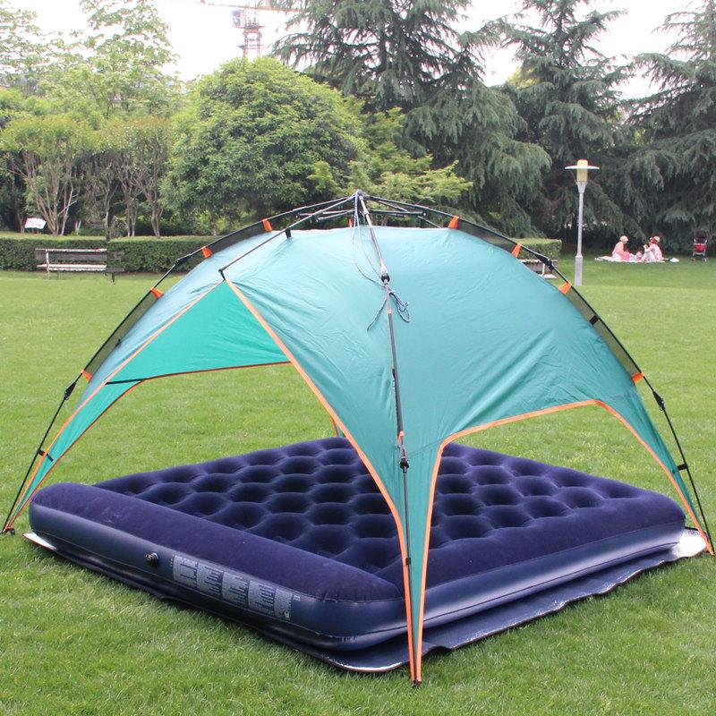 JR Gear inflatable air mat with TPU flim camping air tube bed R 5.0 PrimaLoft ultralight outdoor air mattress moistureproof(China (Mainland))