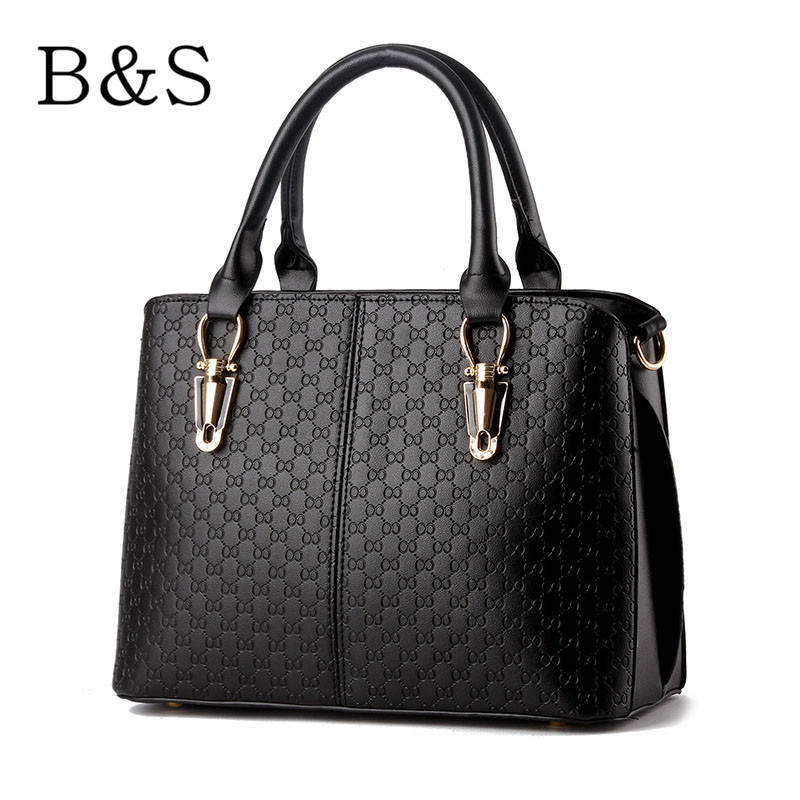 B&S Bags Handbags Women Famous Brands Fashion Simple Lady Messenger Bags Luxury Shoulder Bags Klatch Female Versatile 8 Colors(China (Mainland))