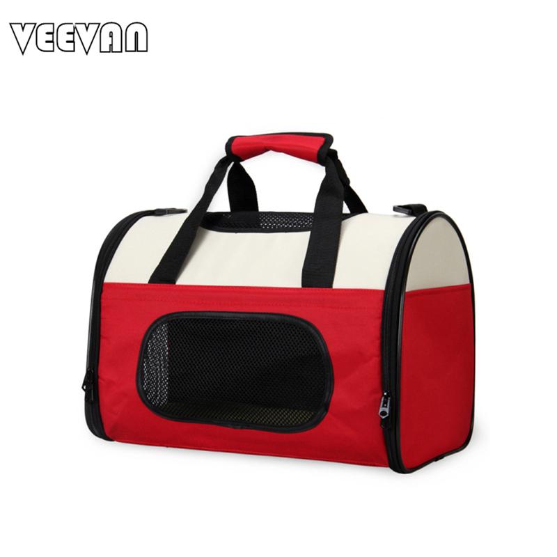 VN 2016 Fashion Luxury Designer Dog Carrier Tote Handbags Vintage 600D/Pvc Folding Travel Bags Pet Shoulder - VEEVAN store