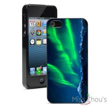 Northern Lights Protector back skins mobile cellphone cases for iphone 4/4s 5/5s 5c SE 6/6s plus ipod touch 4/5/6