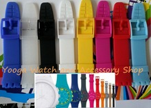 High Grade Silicone Strap for  SWATCH SUSG401/SUSN403/SUSR402/SUSJ400/SUSB402 Original quality With Colorful Clasp