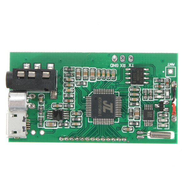 Brand New Top Quality DSP PLL 87 108MHz Digital Wireless Microphone Stereo FM Transmitter Module