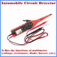 2013 High Quality LED Car Auto Automobile Circuit Detector Tester Diagnostic Tool