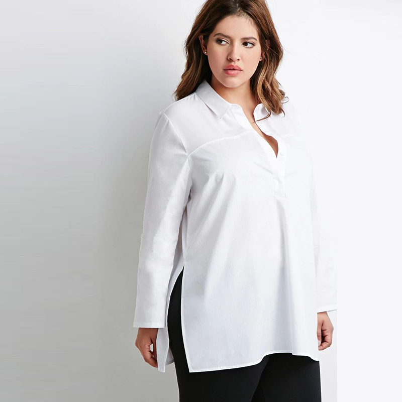 White Blouse Xl 37