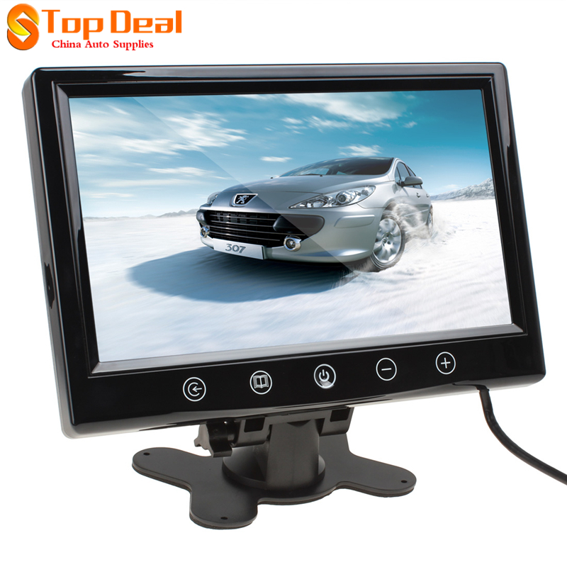 Hotsale 9 Inch Remote Control TFT LCD Color Screen Car Rear View Monitor With 2 Video Input<br><br>Aliexpress