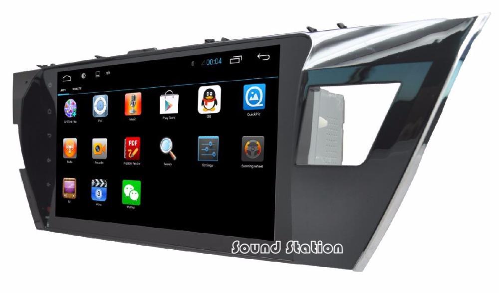For Toyota Corolla 10.2'' Android 4.2.2 Automotivo Car Media Radio Stereo GPS Navigation Multimedia System Autoradio Head Unit(China (Mainland))