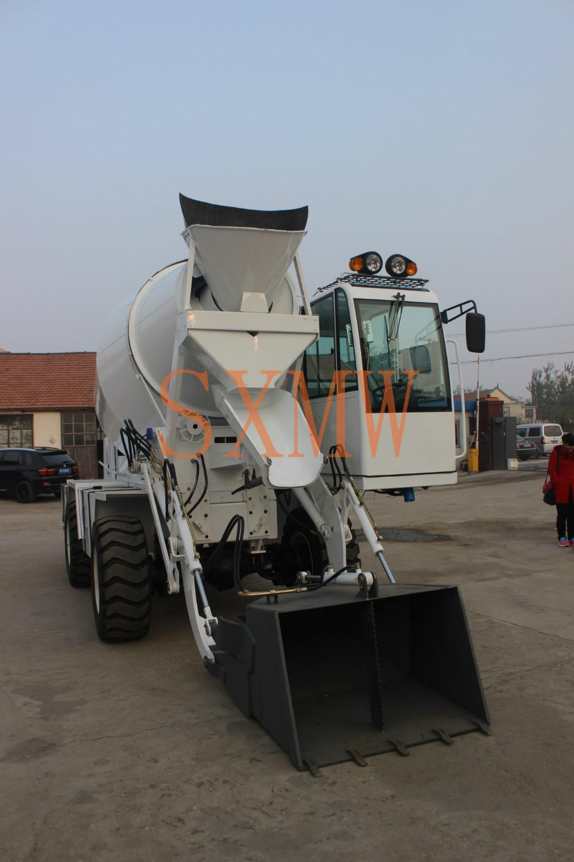 hot sale SXMW4000 diesel concrete mixer(China (Mainland))