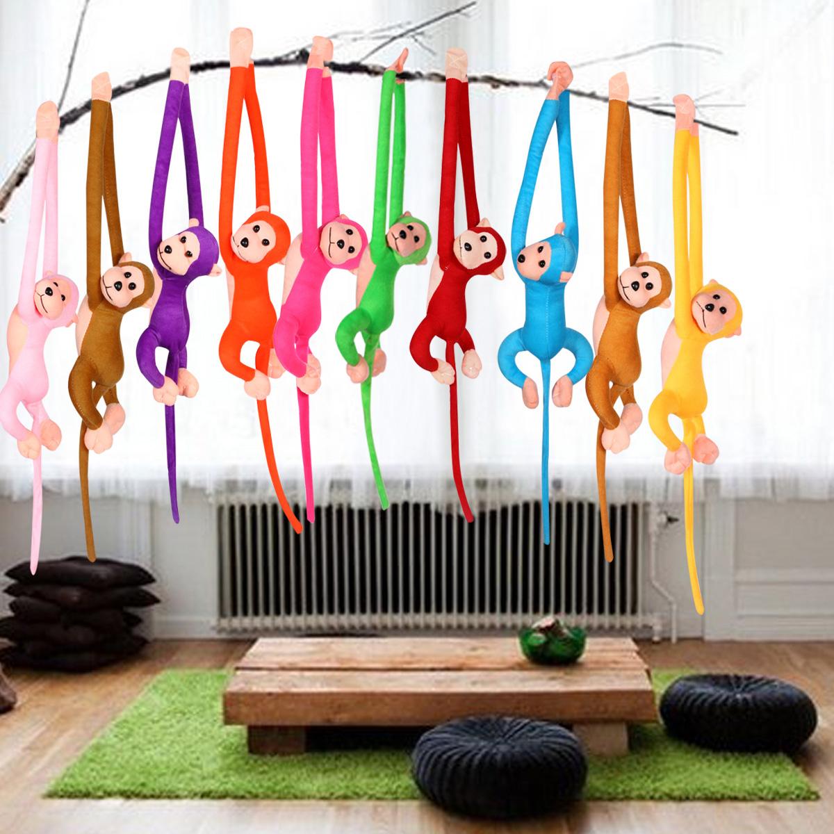 1pcs 70cm Long Arm Monkey Tail Monkey Plush Toys Curtains Stuffed Monkey Animal Dolls for Girls(China (Mainland))