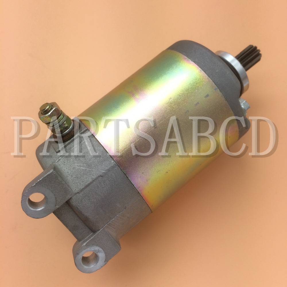GY6 250CC Starter Motor for GY6 250CC ATV Quad Scooter Go kart With 9 Teeth(China (Mainland))