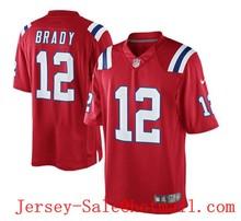 Top A Best quality 100% Stitiched ,New England Patriots,12# Tom Brady, #87 Rob Gronkowski #11 Julian_Edelman(China (Mainland))