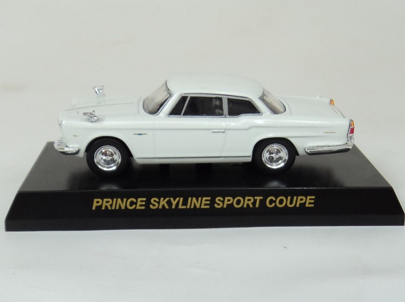 Kyosho 1:64 PRINCE SKYLINE [Beijing] SPORT COUPE automotive mannequin