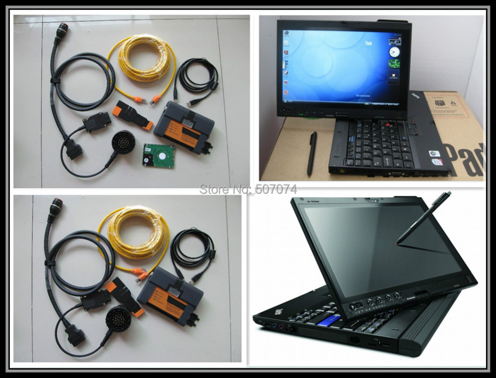 2015 Top-Rated for bmw icom a2 with laptop +software v2015.06+ x200t laptop (4g) ready to work 3in1 programming & diagnostic(China (Mainland))