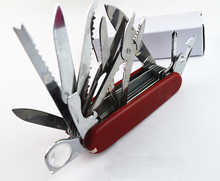 Factory direct supply wholesale swiss knife multifunctional folded knife outside camping knives