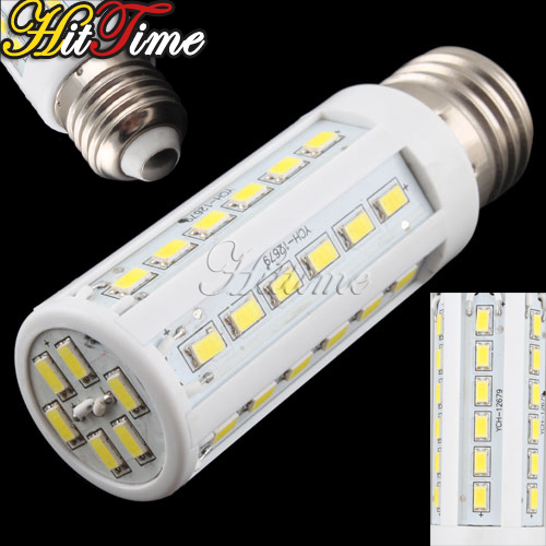 2014 New Pure White 10W 42 LED 5630 SMD E27 Corn Light Bulb 220V Energy Saving Lamp # 17227