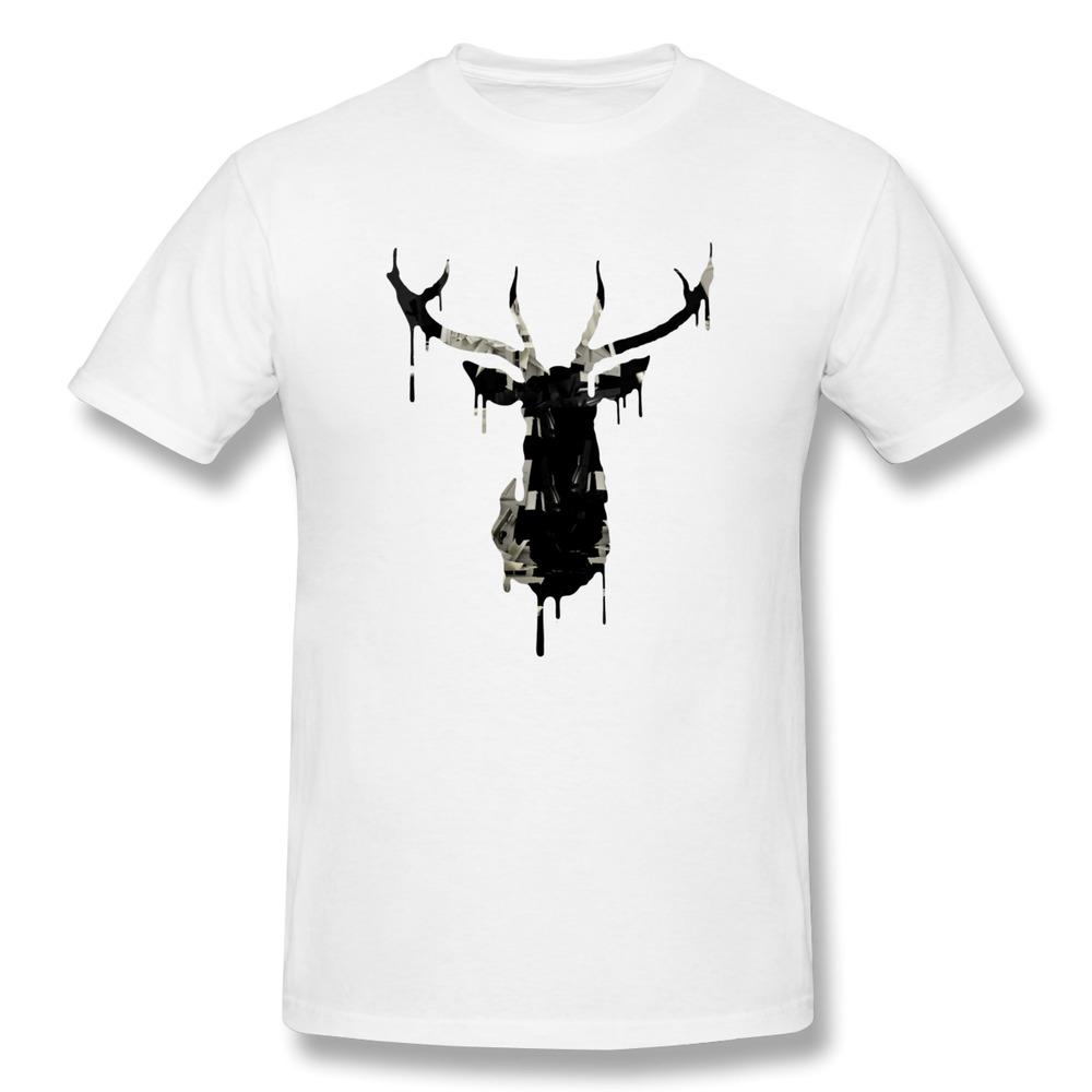 Custom 100 Cotton Men T Shirt Urban Nature Funny High