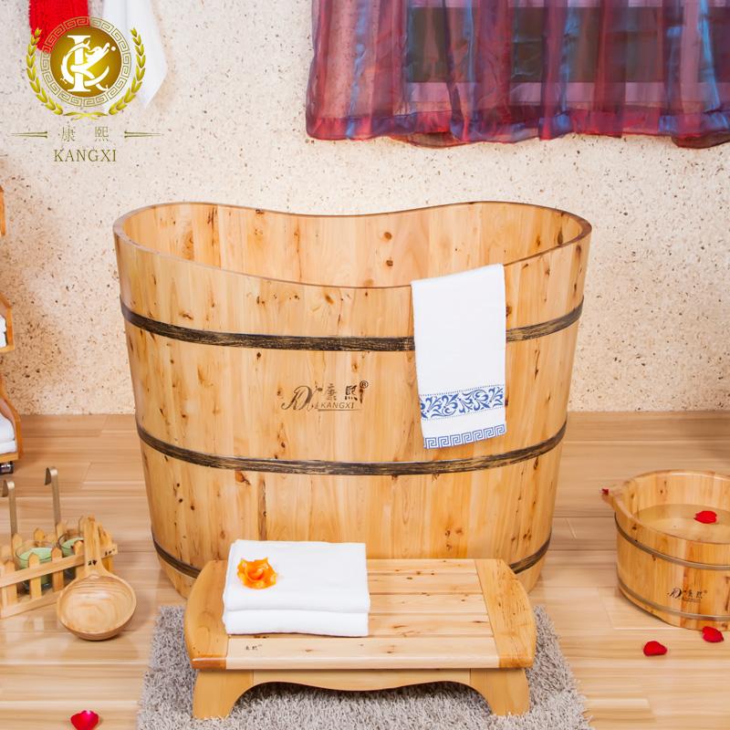 Kx Cedar Luxury Wooden Barrel Bucket Bath Barrel Adult Tub