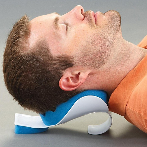 Neck Pillow, Neck and Shoulder Relaxer, Real Ease Neck Support Free Shipping CM-FT0041(China (Mainland))