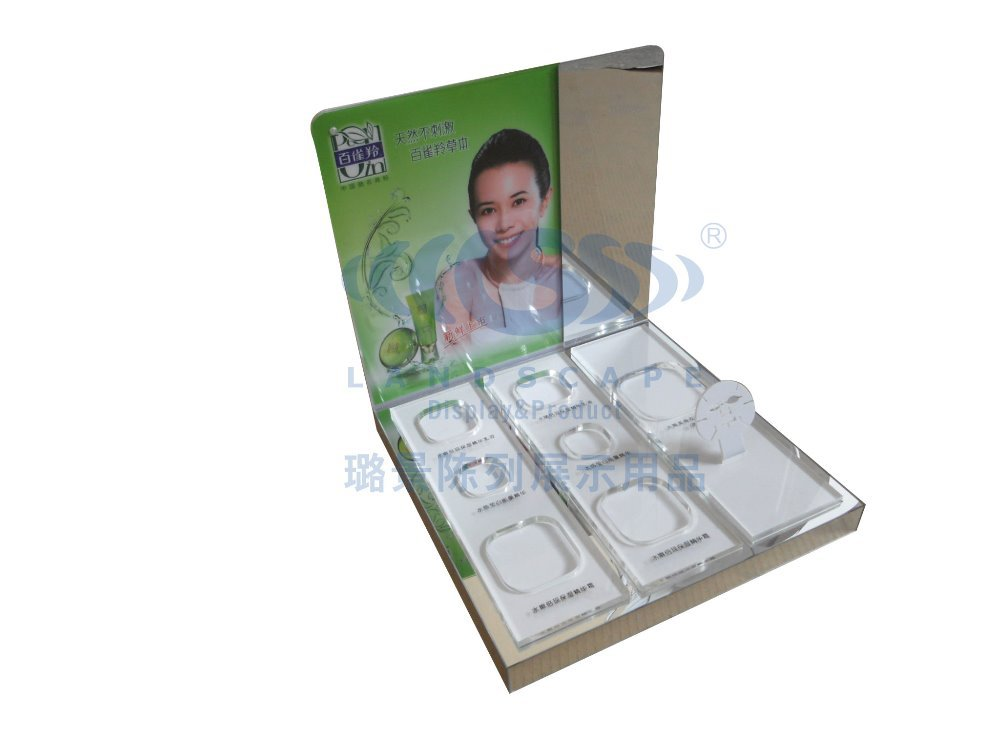 Customized acrylic display stand for facemask in bags(China (Mainland))