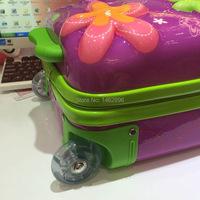 к 2015 году мультфильм цветочные студент посадочный suitacse красавчик девушка мода школа чемодан/креативный мультфильм путешествия abs чемодан