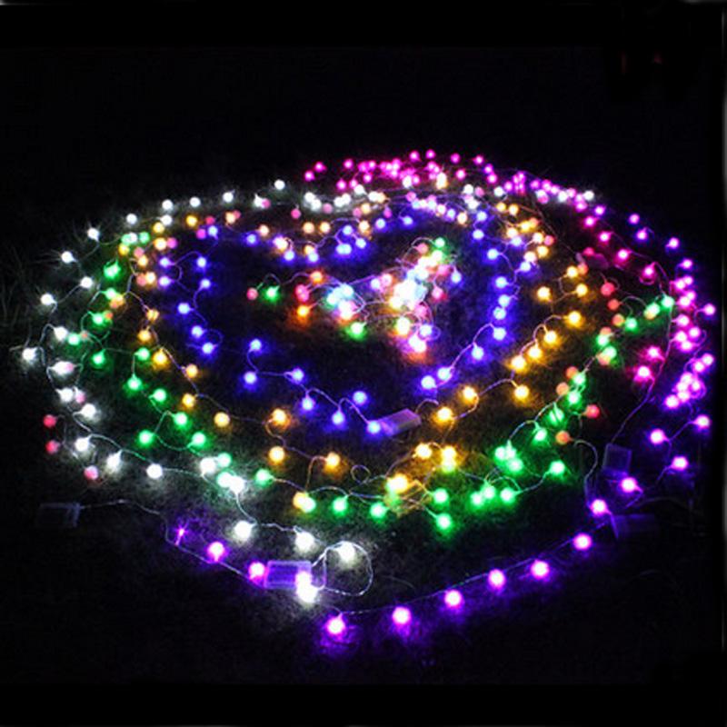 led lights flasher lamp set snow ball bulb string lighting. Black Bedroom Furniture Sets. Home Design Ideas