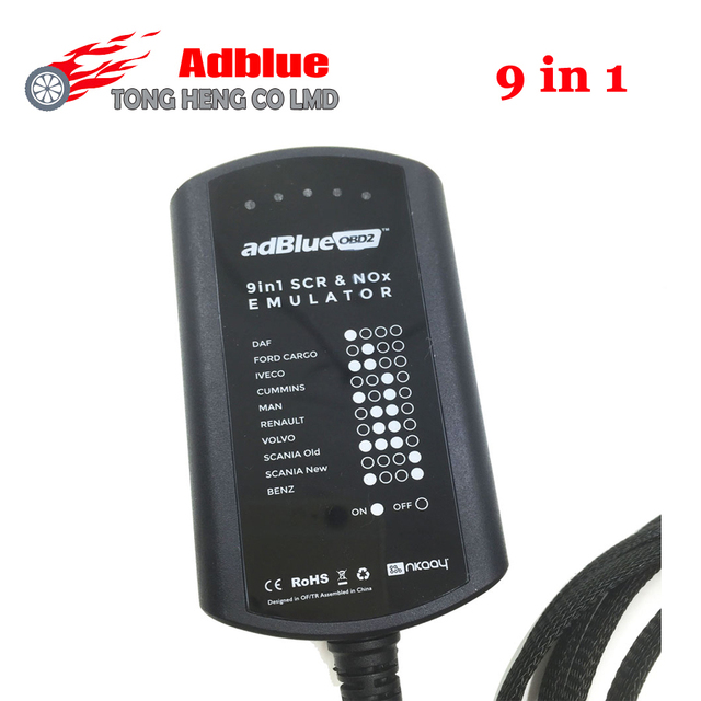 Lowest !! Adblue 8 in 1 update to  Adblue 9 in 1 Universal Adblue Emulator NOT NEED ANY SOFTWARE 9in1 Truck AdBlue Emulation Box