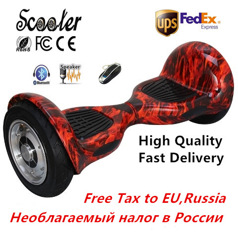 Hover board 10 inch 2 wheel electric scooter Smart Balance Board 10inch Skateboard 700W Hoverboard Samsung battery(China (Mainland))