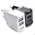 The new 2016 double usb travel charger power 5 v 1 5 eu plug for iPhone