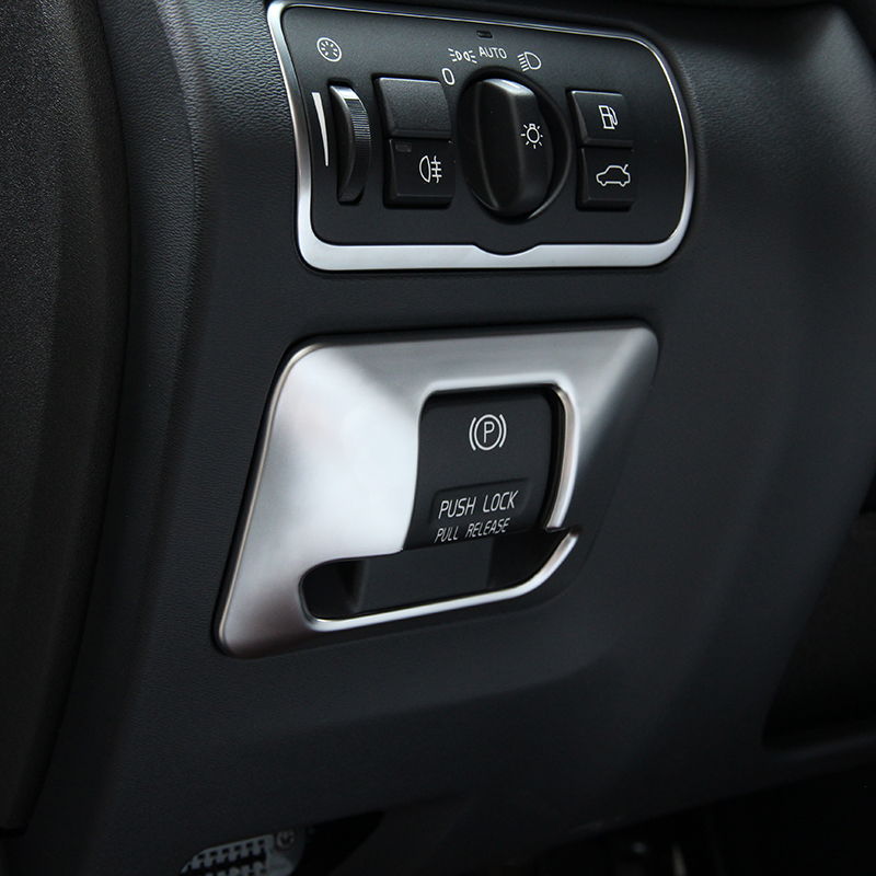 Car Electronic Hand Brake Button Cover Trim For Volvo Xc60 S60 V60 S80 Accessories Car Styling