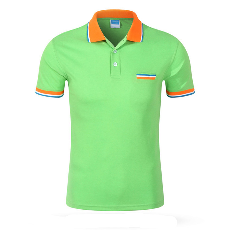 Mens polo t shirt 3 male models picture for Men s cotton polo shirts with pocket