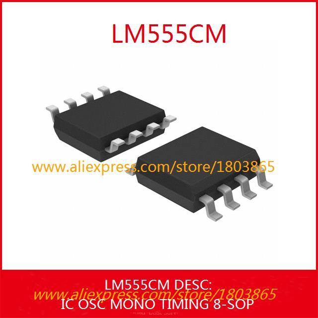 Free Shipping Integrated Circuits Types LM555CM IC OSC MONO TIMING 8-SOP 555 LM555 5pcs(China (Mainland))