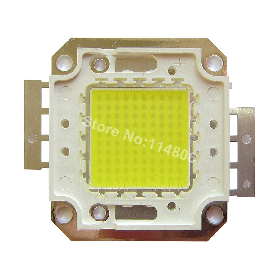 100W Square Base Cool White 8000LM 4000K~4500K SMD LED diodes Light Parts NEW<br><br>Aliexpress