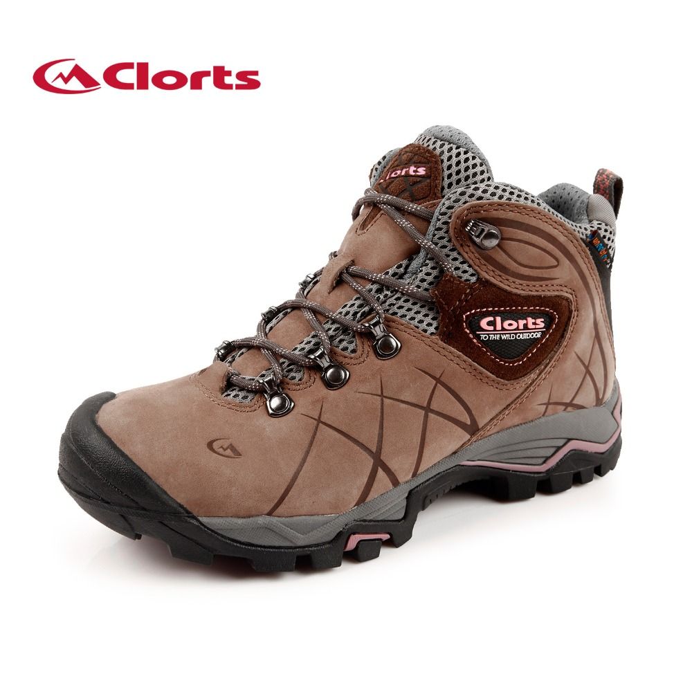 clorts 2015 hiking shoes waterproof non slip leather