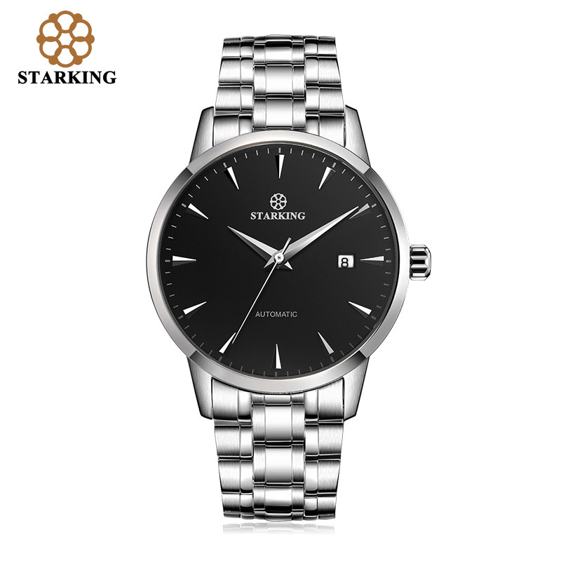 compare prices on self winding watches men online shopping buy starking mechanical automatic self wind watches men stainless steel male business watch time calendar casual wristwatches