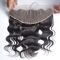 7A brazilian lace frontal closure 1 piece peruvian body wave virgin hair 13 x4 lace frontals