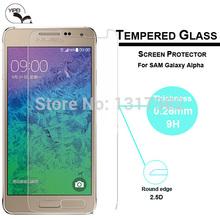 1 шт. — защитная пленка для Samsung Galaxy альфа G850 закаленное стекло 9 H 0.3 мм 2.5D HD небьющиеся закаленное Films