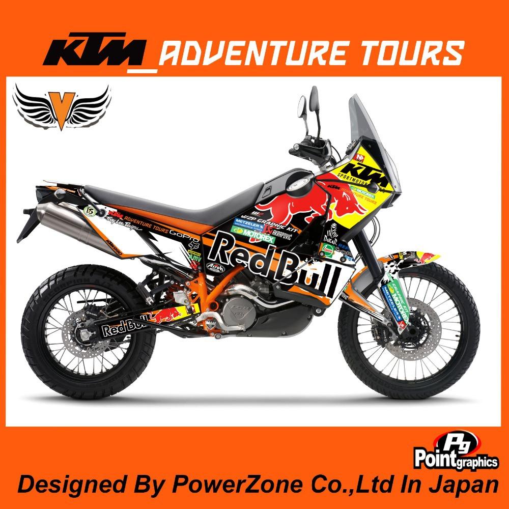 Ktm 990 sticker kits kamos sticker for Deco 990 adventure