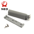 NED High Quality 10Set/Lot Gray White Kitchen Cabinet Door Stop Drawer Soft Quiet Close Closer Damper Buffers With Screws